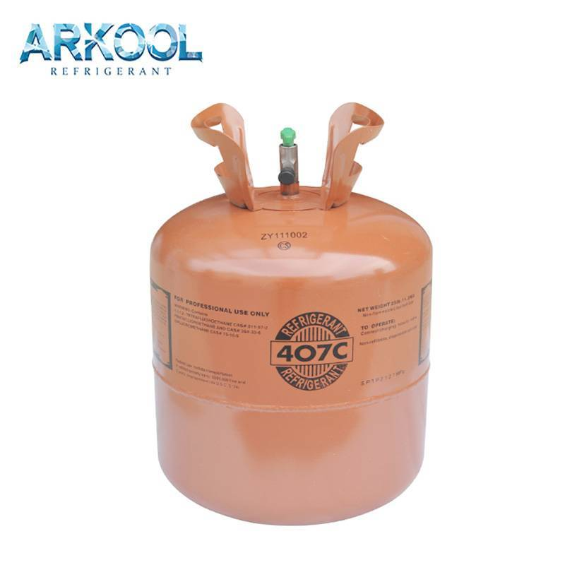 Good Price Environment Friendly Mixed R407c Refrigerant Gas