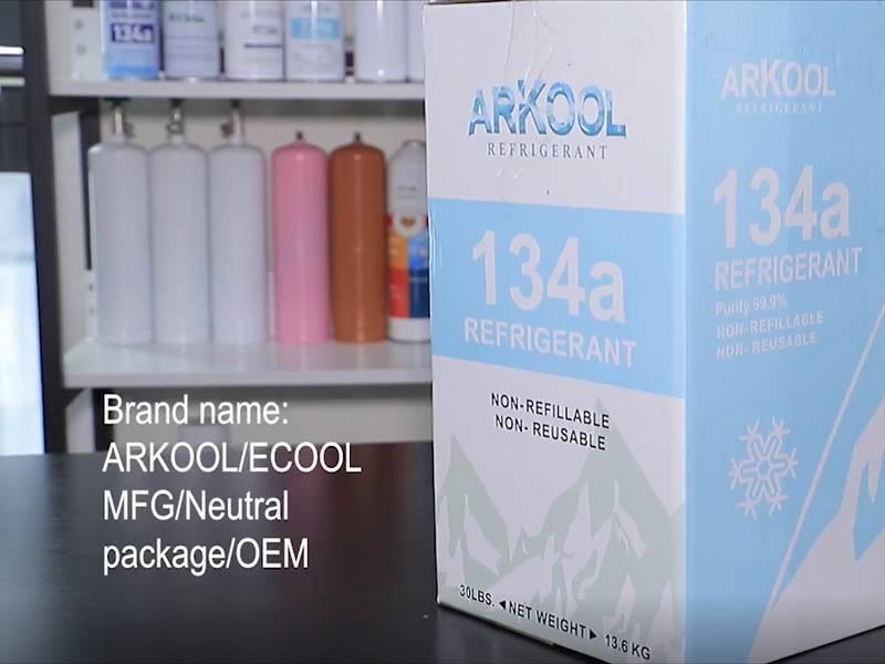 Arkool Brand Refrigerant Gas R134A