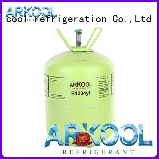 Arkool hfo gas with bottom price for mobile air conditioner