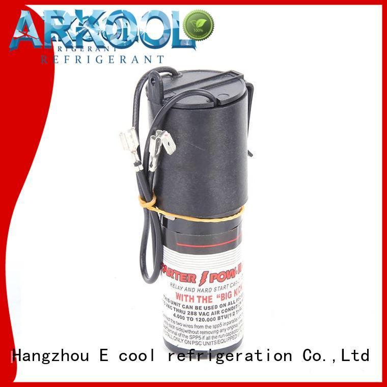 Arkool compressor hard start capacitor producer for heating pump