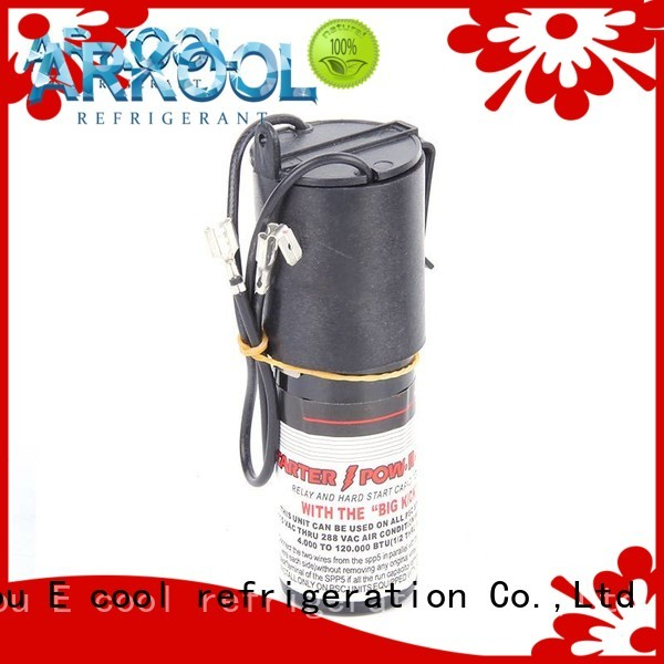 competitive price air conditioner hard start capacitor exporter for AC motors