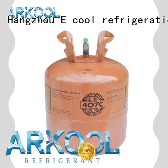 Arkool r407c refrigerant gas factory for industry