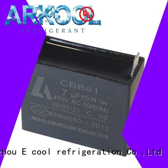Arkool low price motor run capacitor custom made for celing fan