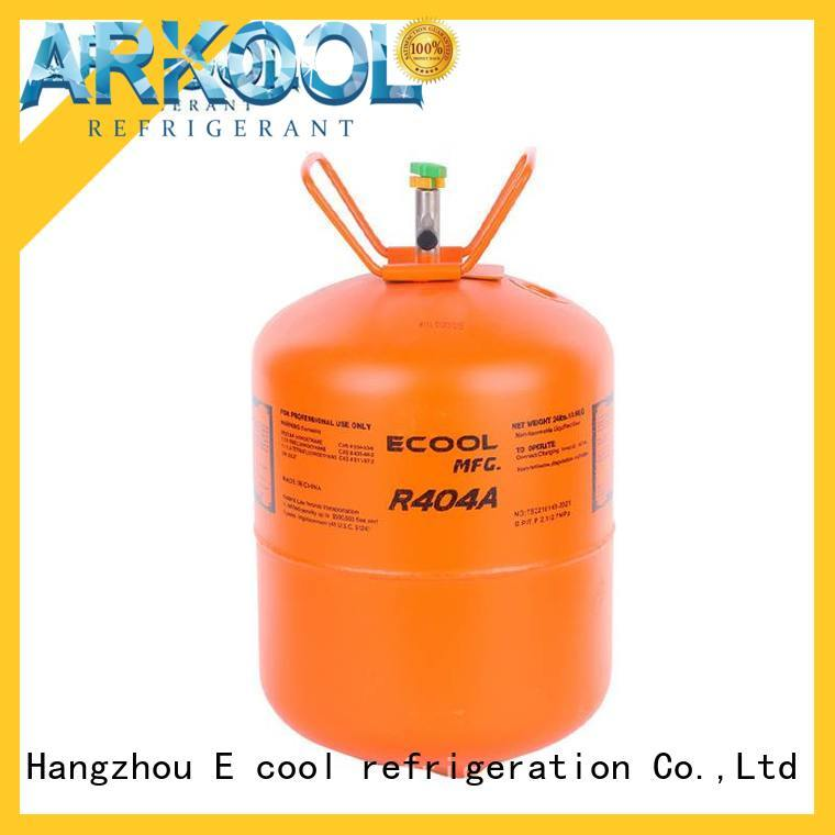 Arkool r404a refrigerant gas factory for air conditioner