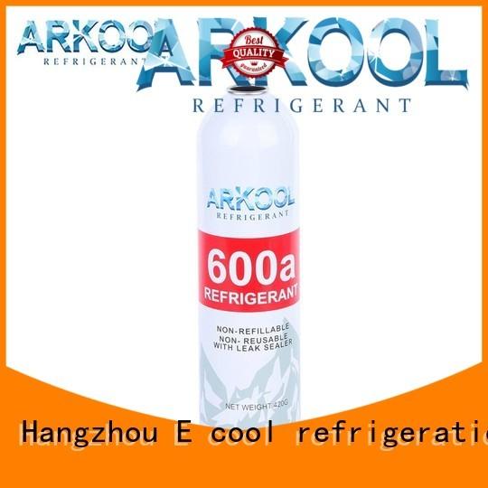 Arkool hc refrigerant gas