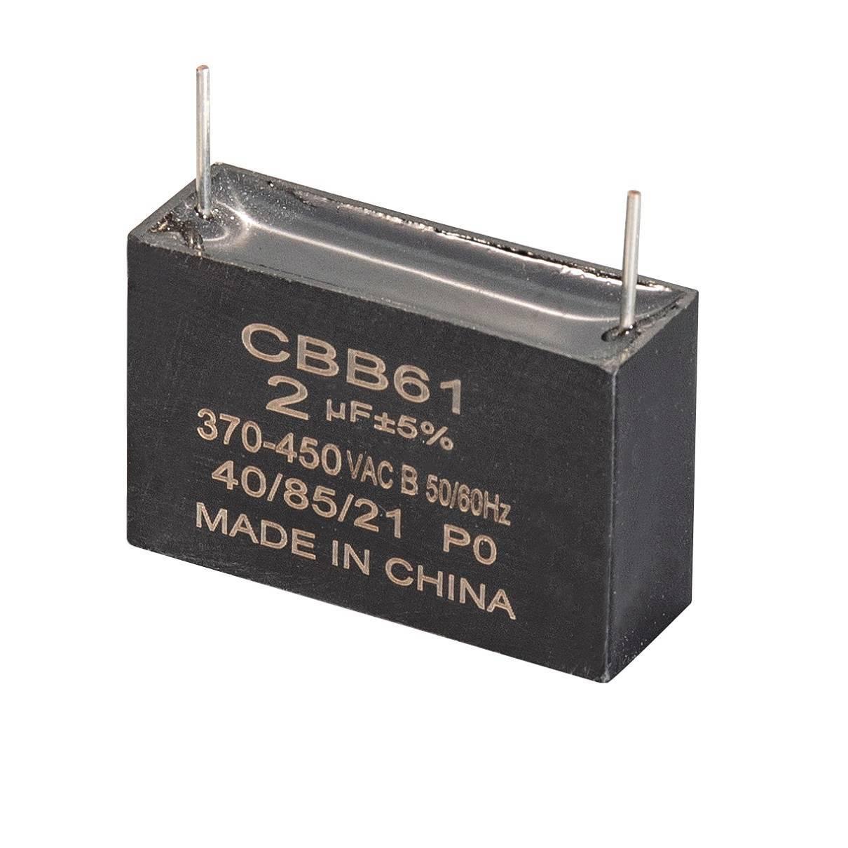 Motor Run Capacitor Cbb61 For Fan Motor