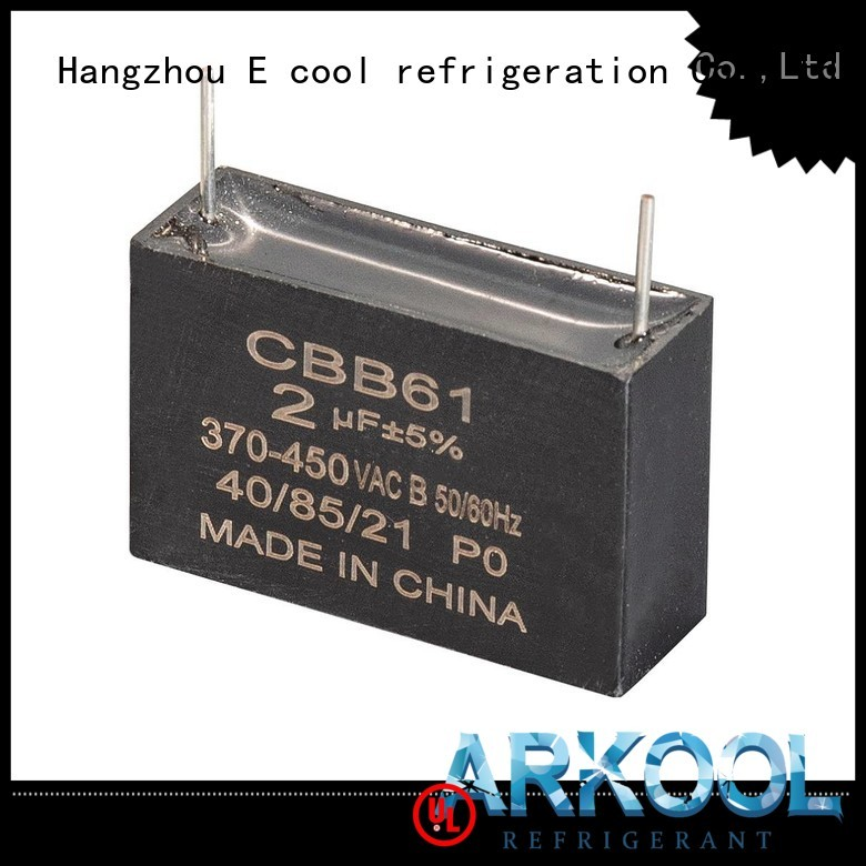 Arkool new dual capacitor manufacturers for air condition