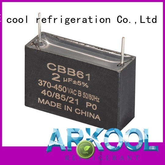 Arkool dual run capacitor for air conditioner manufacturers for air condition