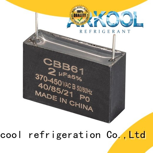 Arkool cheap motor run capacitor for air conditioner manufacturer for celing fan